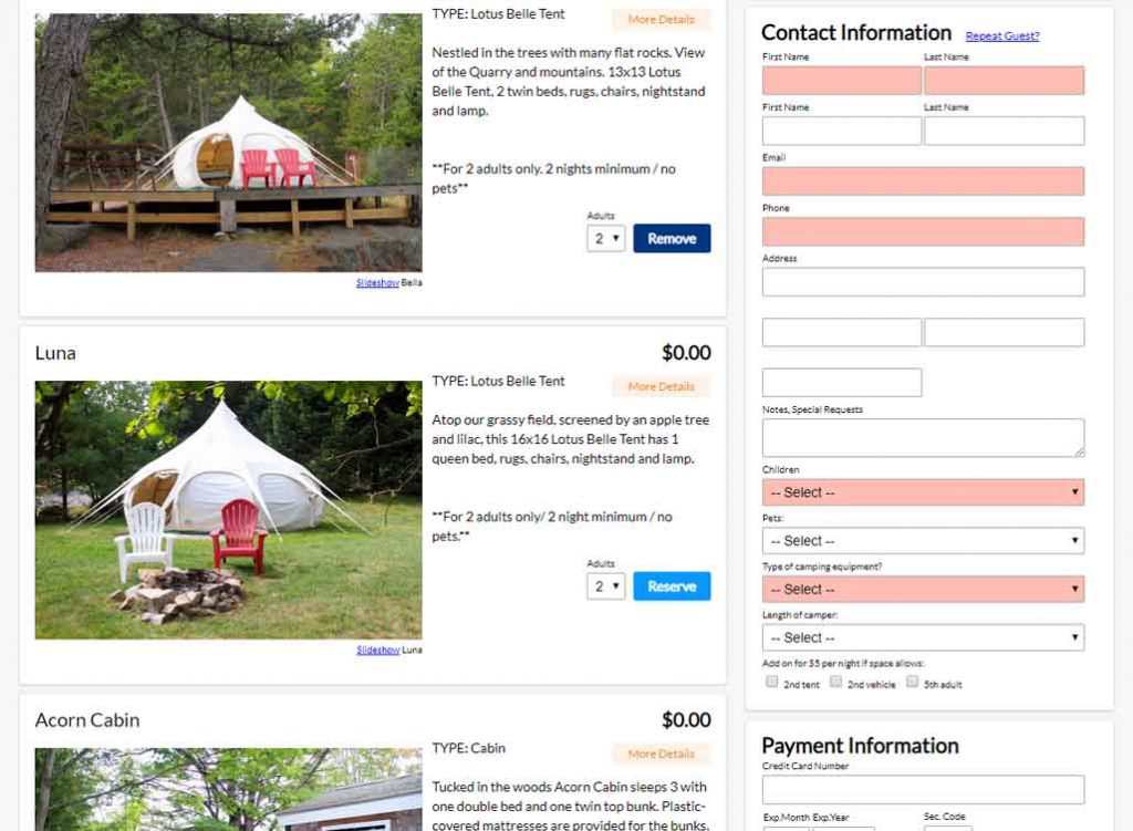 campground-online-reservation-system